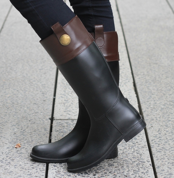 Equestrian Style Rain Boots