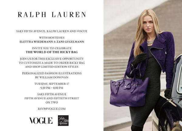 Ralph Lauren & Vogue